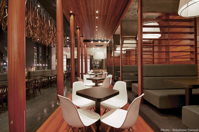 Commercial Dining Room Furniture Custom Nice Separation Of Space Using Contrasting Colors On Booths Vs Inspiration