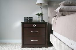 Baxton Studio Stella Crystal Tufted Black Upholstered