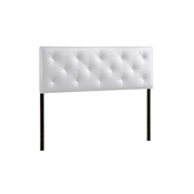 Baxton Studio Baltimore Modern and Contemporary King White Faux Leather Upholstered Headboard Baxton Studio Baltimore Modern and Contemporary King White Faux Leather Upholstered Headboard, wholesale furniture, restaurant furniture, hotel furniture, commercial furniture
