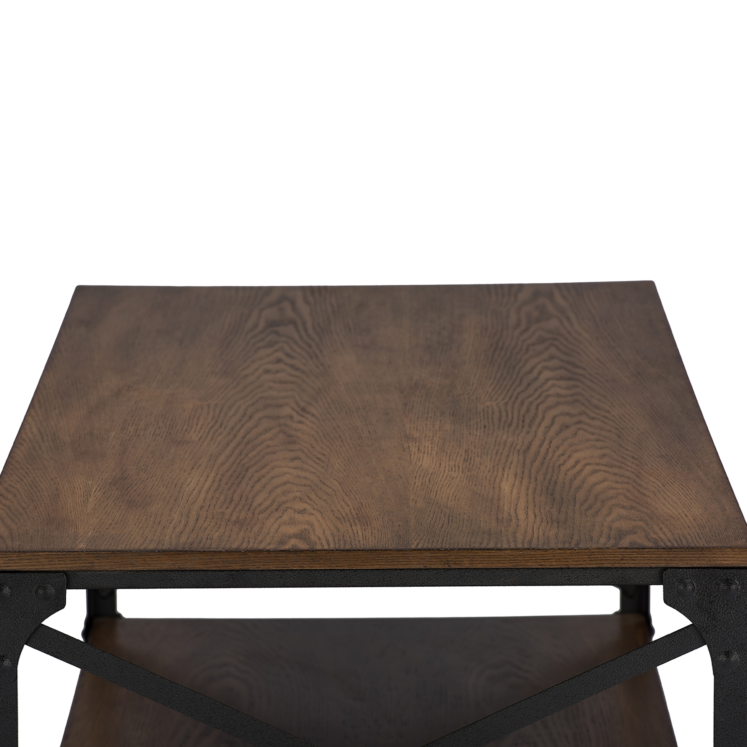... Baxton Studio Greyson Vintage Industrial Antique Bronze Occasional  Cocktail Coffee Table   YLX 2694 CT