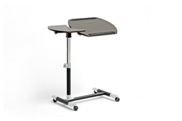 Baxton Studio Olsen Brown Wheeled Laptop Tray Table with Tilt Control Baxton Studio Olsen Brown Wheeled Laptop Tray Table with Tilt Control, wholesale furniture, restaurant furniture, hotel furniture, commercial furniture