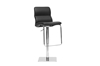Wholesale Interiors Baxton Studio Helsinki Black Modern Bar Stool