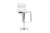 Wholesale Interiors Baxton Studio Helsinki White Modern Bar Stool