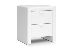 Baxton Studio Frey White Upholstered Modern Nightstand Baxton Studio Frey White Upholstered Modern Nightstand, wholesale furniture, restaurant furniture, hotel furniture, commercial furniture