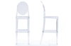 Wholesale Interiors Baxton Studio Infinity Clear Plastic Contemporary Bar Stool (Set of 2)