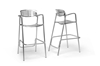 Wholesale Interiors Baxton Studio Ethan Modern Aluminum Bar Stool (Set of 2)