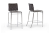 Wholesale Interiors Baxton Studio Vittoria Brown Leather Modern Counter Stool (Set of 2)