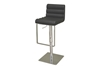 Wholesale Interiors Baxton Studio Sandie Black Leather Barstool