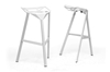 Wholesale Interiors Baxton Studio Kaysa White Aluminum Modern Bar Stool (Set of 2)