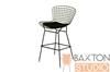 Wholesale Interiors Baxton Studio Bertoia Style Black Wire Barstool