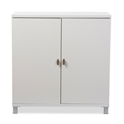 Baxton Studio Marcy Modern and Contemporary White Wood Entryway Handbags or School Bags Storage Sideboard Cabinet Baxton Studio restaurant furniture, hotel furniture, commercial furniture, wholesale bathroom furniture, wholesale bathroom storage, classic storage