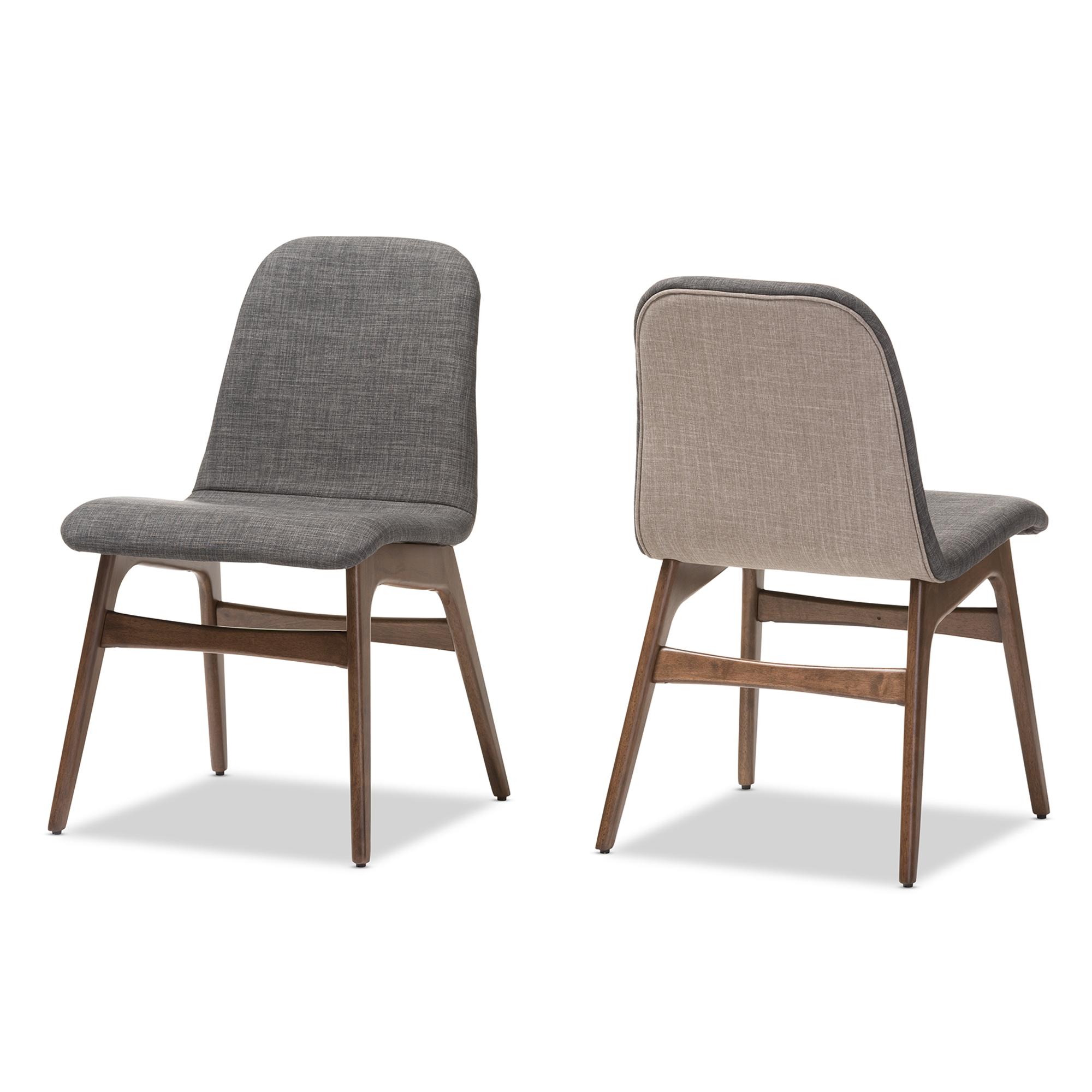 scandinavian retro furniture. Baxton Studio Embrace Mid-century Retro Modern Scandinavian Style Dark Grey Fabric Upholstered Walnut Wood Furniture