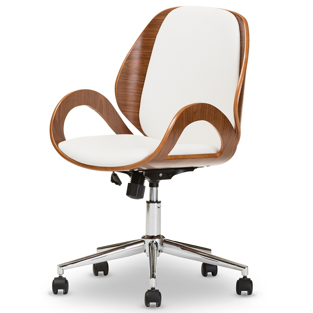 Wholesale office chairs wholesale home office furniture for Modern white office chair