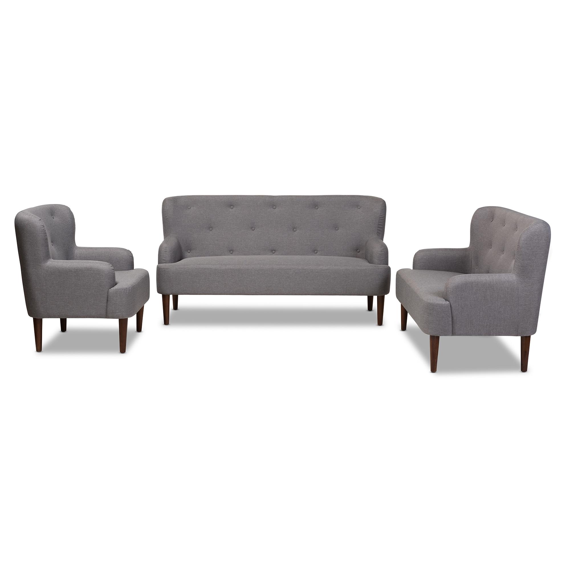 Wholesale sofa set Wholesale living room furniture  : 808 Light Grey 3PC Set 1 from www.wholesale-interiors.com size 1000 x 1000 jpeg 149kB