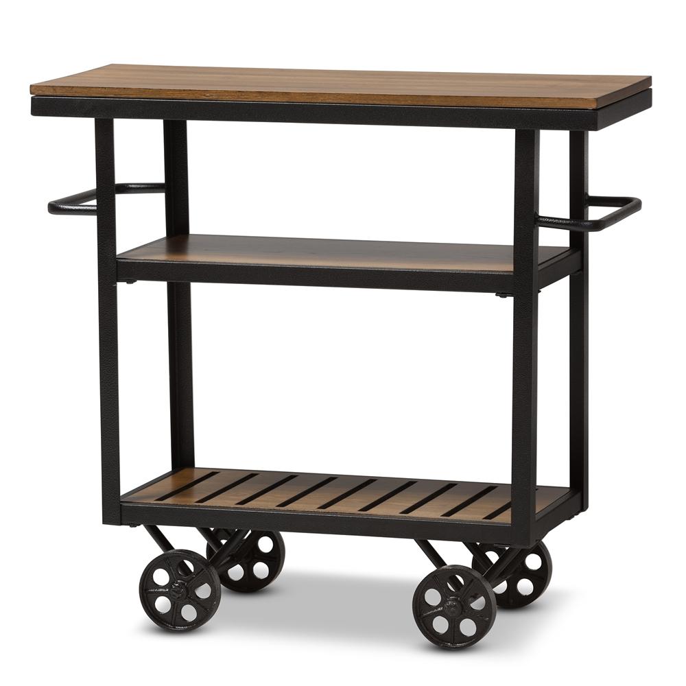 Industrial Bar Cart Bar Cart Kitchen Cart Serving Cart: Wholesale Dining Room Furniture