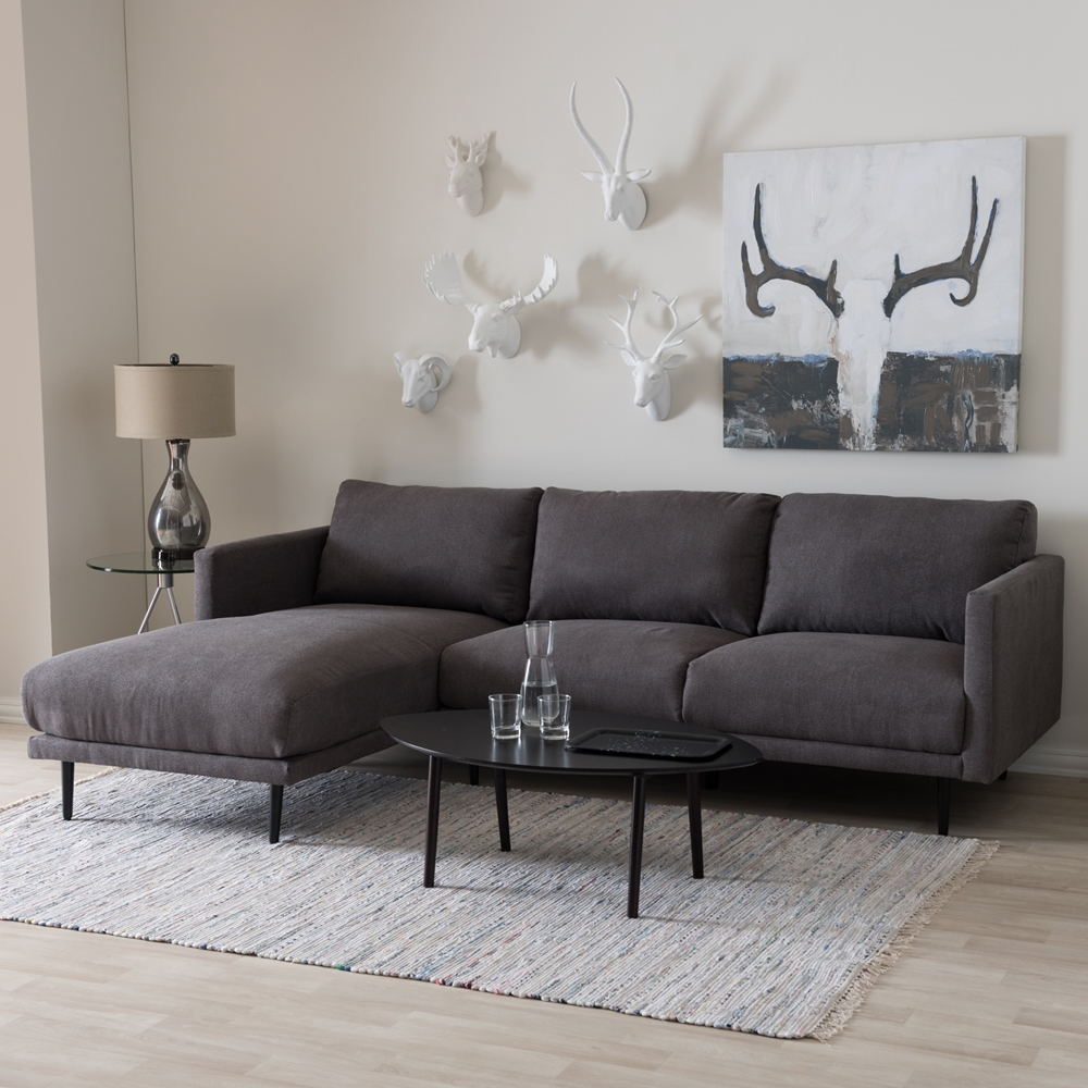 our l cushions minimalist to and of living grey fabric chaise completed couch room three four with schemes sectional complete seats by