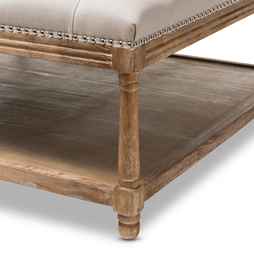 French Country Ottoman Coffee Table: Wholesale Living Room Furniture