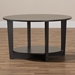 Baxton Studio Belina Modern and Contemporary Wenge Brown Finished Coffee Table - MH2105-Wenge-CT