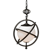 Baxton Studio Alita Rustic and Industrial Antiqued Black and Gold Finished Pendant Chandelier Baxton Studio restaurant furniture, hotel furniture, commercial furniture, wholesale living room furniture, wholesale lighting, classic lightings