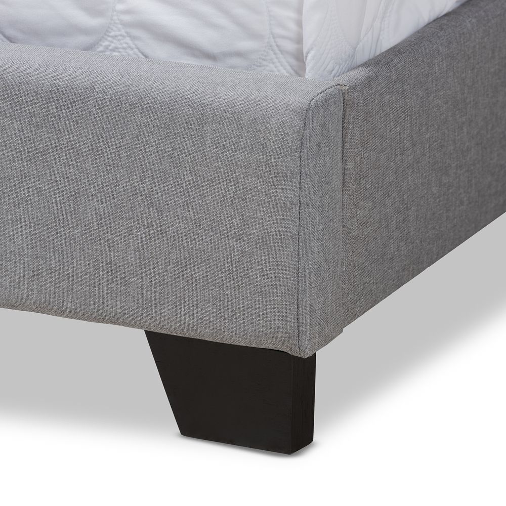 4347a41134a0 ... Baxton Studio Brady Modern and Contemporary Light Grey Fabric  Upholstered Full Size Bed - Brady- ...