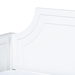 Baxton Studio Mariana Classic and Traditional White Finished Wood Twin Size Daybed with Trundle - Mariana-White-Daybed-T