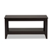 Baxton Studio Elada Modern and Contemporary Wenge Finished Wood Coffee Table - CT8000-Wenge-CT