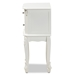 Baxton Studio Sophia Classic and Traditional French White Finished Wood 2-Drawer Nightstand - HL7A-A110-2 DW NS
