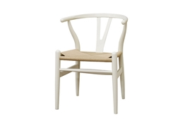 Baxton Studio Wishbone Chair - Ivory Wood Y Chair (Set of 2) Wishbone Chair - Ivory Wood Y Chair wholesale, wholesale furniture, restaurant furniture, hotel furniture, commercial furniture