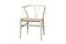 Baxton Studio Wishbone Chair - Ivory Wood Y Chair (Set of 2) - DC-541-white