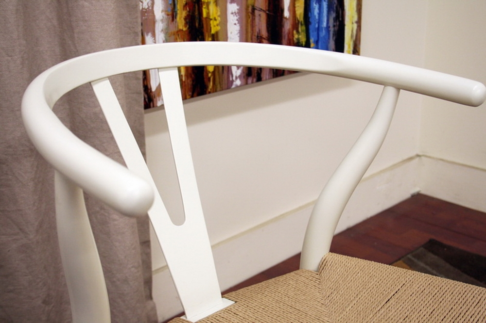 wishbone chair ivory wood y chair wholesale interiors