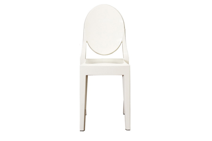 Baxton Studio Ivory Acrylic Ghost Chair   PC 448 Ivory ( Set Of 2 ...