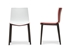 Baxton Studio Soren White and Red Modern Dining Chair (Set of 2) - DC-306G-Red/White