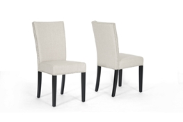 Baxton Studio Harrowgate Beige Linen Modern Dining Chair (Set of 2) Harrowgate Beige Linen Modern Dining Chair (Set of 2), wholesale furniture, restaurant furniture, hotel furniture, commercial furniture