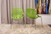 Baxton Studio Birch Sapling Green Plastic Modern Dining Chair (Set of 2) - DC-451-Green