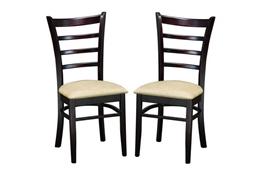jupiter white and orange plastic modern dining chair set