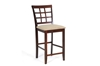 Wholesale Interiors Baxton Studio Katelyn Brown Wood Modern Counter Stool (Set of 2)