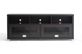 Baxton Studio Swindon Modern TV Stand with Glass Doors Swindon Modern TV Stand with Glass Doors wholesale, wholesale furniture, restaurant furniture, hotel furniture, commercial furniture