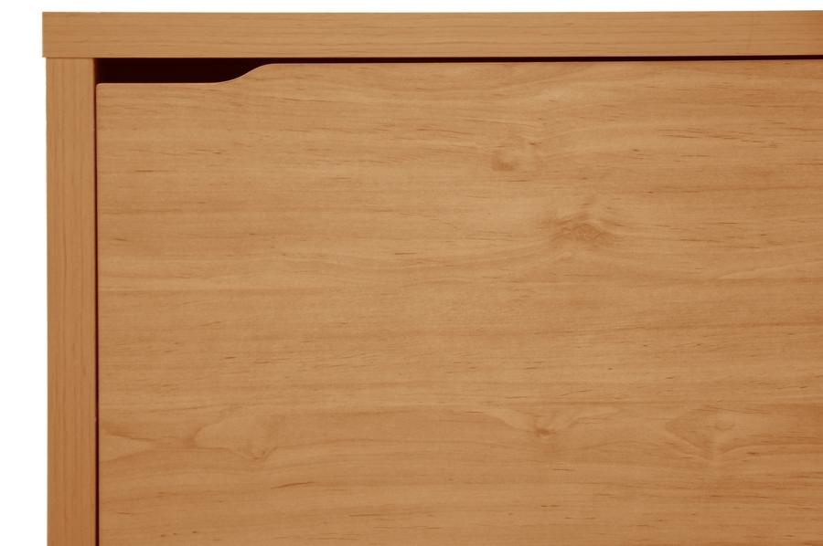 Baxton Studio Simms Maple Modern Shoe Cabinet