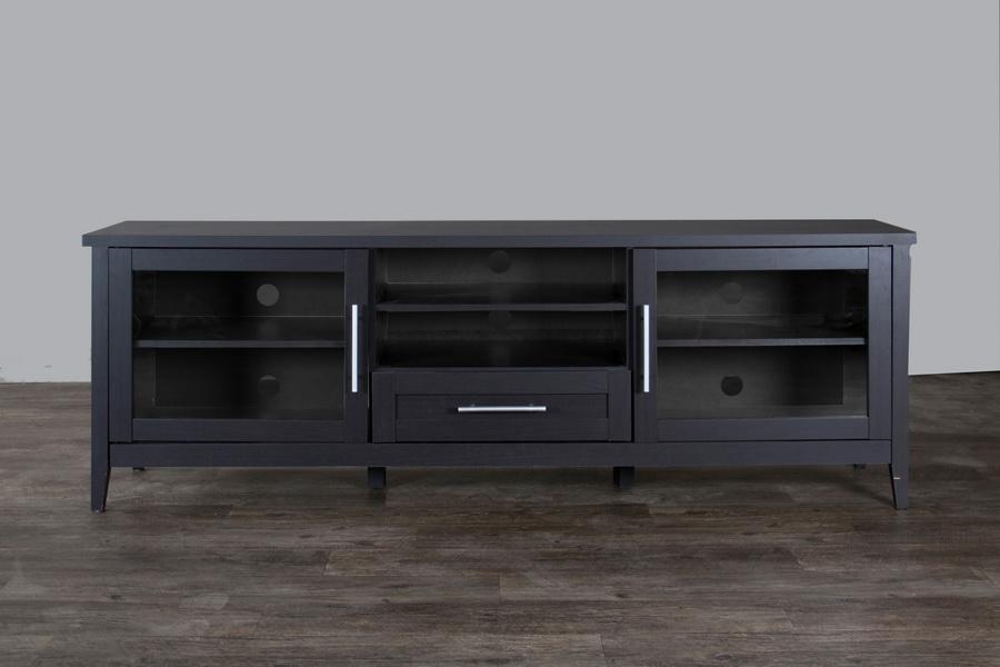 Baxton Studio Espresso Tv Stand One Drawer Wholesale Interiors