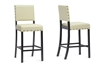 Wholesale Interiors Baxton Studio Walter Cream Modern Counter Stool (Set of 4)