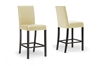 Wholesale Interiors Baxton Studio Torino Cream Modern Bar Stool (Set of 4)