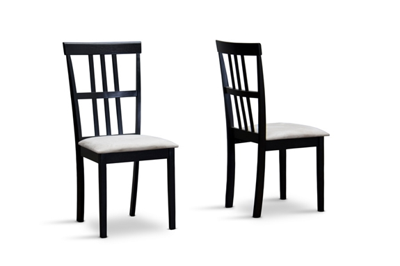 baxton studio jet moon dining chair set of 2 wholesale interiors