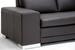 Baxton Studio Callidora Dark Brown Leather-Leather Match Sofa Sectional - 766-sofa/lying-M9805