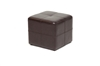 Wholesale Interiors Baxton Studio Nox Dark Brown Ottoman