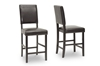 Wholesale Interiors Baxton Studio Love Counter Stool (Set of 2)