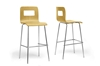 Wholesale Interiors Baxton Studio Greta Birch Modern Bar Stool (Set of 2)
