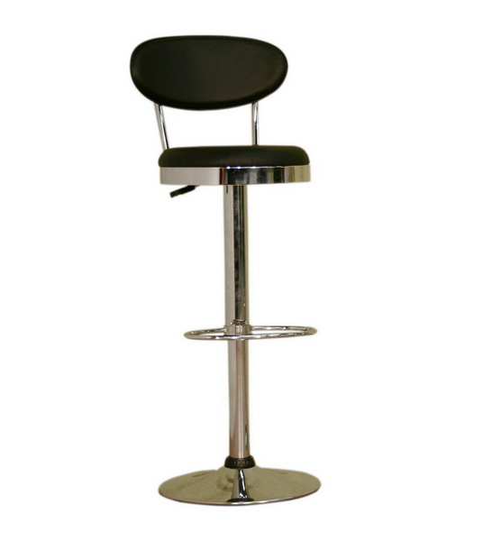 Barstool Achilla BS-030A-Black-White