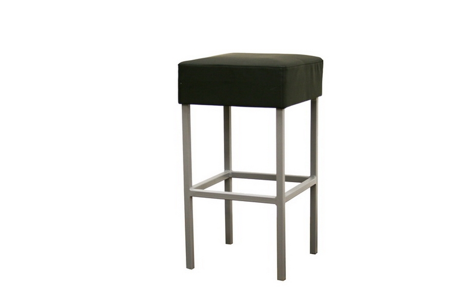 Counter Stool Andante Black Faux Leather
