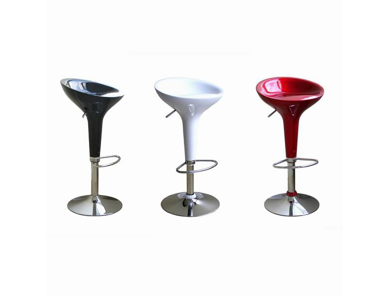 Barstool A148-black-red-white