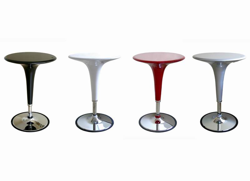Bar Table Nu Black-Red-Silver-White